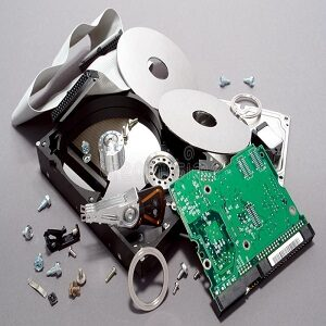 physical shock damage on hard disk drive hdd repair